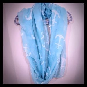 ⚓⚓ Infinity Anchor Scarf NWOT ⚓⚓